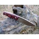 WOC Wanger Observer Custom Real Steel 440C HRC 58 - 59 Schwarz Rot