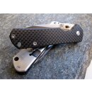 Messer Sanrenmu 710 Exclusive G10 / Carbon  Satin 8Cr13MoV Framelock 7010 CF