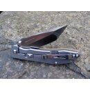 Sanrenmu 20 cm Big Tanto Beta Plus Kugellager Frame Lock Flipper Schwarz 9001 LTC-SF