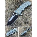 WE Knife 619 C Voll Titan Green plain M390 Böhler...