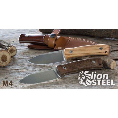 Lionsteel Lederscheide M4 braun
