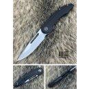 WE Knife 714 C Slipstream Schwarz Titan Stonewash Satin...