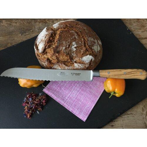 Laguiole en Aubrac Brotmesser Olivenholz