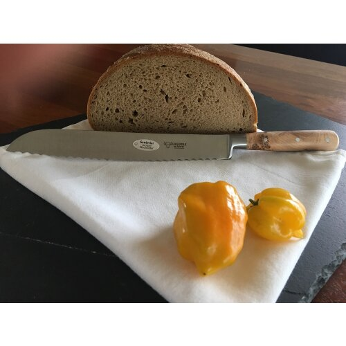 Laguiole en Aubrac Brotmesser Wacholder