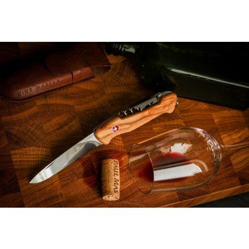 Victorinox Wine Master Olivenholz Taschenmesser