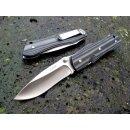 Sanrenmu 9051 SUC-GHV grau schwarz Slipjoint 18Cr13MoV...