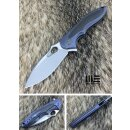 Messer WE Knife 716 B Zephyr Blau Titan  CF Inlay Böhler...