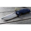 SRM knives Clawtrap 1005 blau-schwarz  9Cr14MoV Stahl G10...
