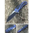 WE Knife Messer 801 A Minitor Böhler M390 Titan Blau...