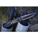Sanrenmu Taschenmesser 8Cr13MoV  Vollmetall Edelstahl grau Outdoor Jagdmesser Survival