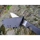Linder Super Edge 2 mit Kydex Scheide ATS 34 Stahl Jagdmesser Outdoormesser 102211KDX