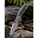WE Knife Vapor Titan Grau Kohlefaser  CPM-S35VN...