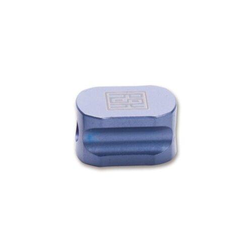 Real Steel Titan Bead Hexagon Blau