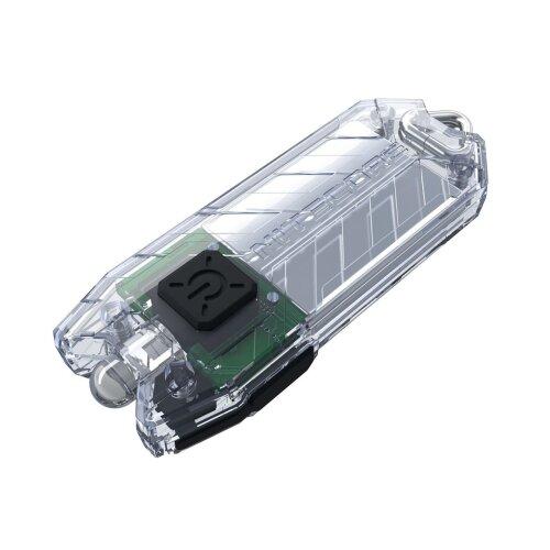Nitecore Tube Transparent Taschenlampe 09JB023 Schlüsselanhänger