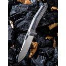 WE Knife Caliber CPM-S35VN Flat Titan Carbon / Kohlefaser...