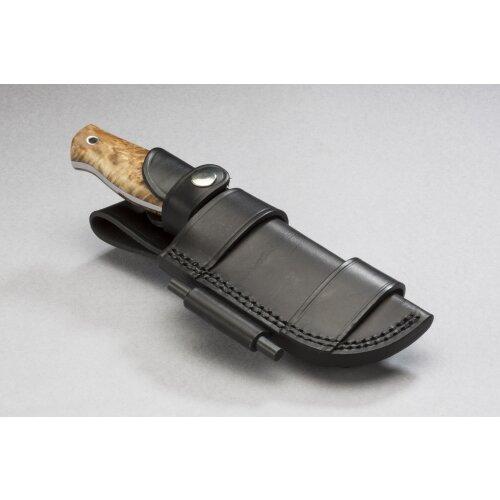 Wanger Leder-Gürtel-Scheide für Wanger Vamos und Andere Messer auch horizontal tragbar