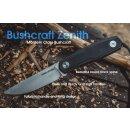 Real Steel Bushcraft Zenith Flachschliff Schwarz 14C28N G10