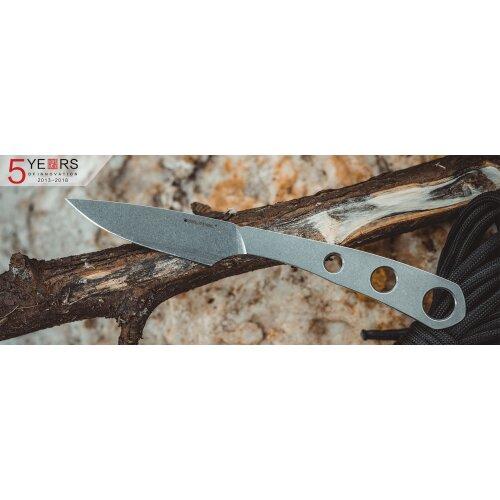 Real Steel Marlin Neckknife 8Cr14MoV Stahl Kydexscheide mit  Paracord-Wicklung
