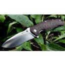SRM knives Rattlesnake 1006 rotbraun schwarz 14C28N...