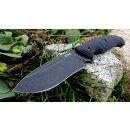 SRM knives S745  Fixed schwarz 14C28N Sandvik Schweden...