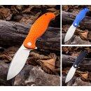 Naja CIVIVI - Schwarz, blau oder orange - 9Cr18MoV Stahl G10 Griffschalen Kugellager Flipper