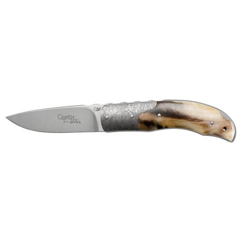 Viper Tecnocut Quality Widderhorn Backlock Böhler N690 Stahl Widderhorn Jagdmesser Gentleman V5510MO
