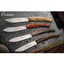 2 Steakmesser Olivenholz Viper Costata Italien 440A Drop-Point Klinge Slow Food Messer  VT7502/02UL