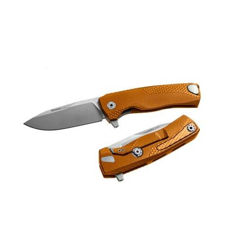 Lionsteel ROK Aluminium  Böhler M390 Orange Alu