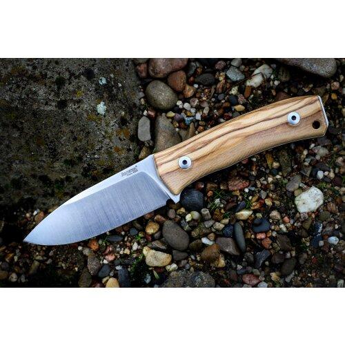 Ausgesuchte Maserung LionSteel M4 Olive Böhler M390 Micro Claen Stahl Jagdmesser Brotzeitmesser M4UL Plus +