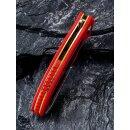 CIVIVI  Shard D2 Stahl Rot G10 Carbon-Overlay Satin Keramikkugellager