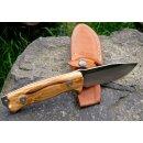 Ausgesuchte Maserung LionSteel Olive M5 Sleipner HRC >60° Jagdmesser Gürtelmesser Outdoormesser M5UL