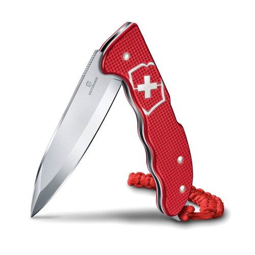 Victorinox Hunter Pro M Alox Zweihand Rot Moneyclip Geldclip Jagdmesser Messer inkl. Lanyard