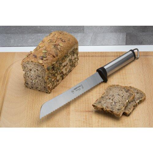 Brotmesser 32 cm F. Mertens Solingen Edelstahl-Griff Stil-Ikone 80er sehr scharf
