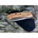 Ausgesucht schöne Maserung  Viper Tecnocut Timeless Olive 12C27 Sandvik Stahl Olivenholz V5400UL+