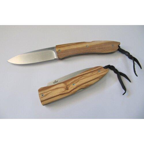 LionSteel Opera Big Olive D2 Stahl Olivenholz Taschenmesser Messer 8810UL+ ausgesucht schöne Maserung