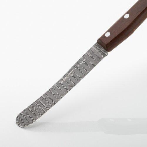 FELIX GmbH Balbach Damast Tafelmesser Buckelsform Damaststahl Echtholz stabilisiert
