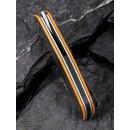 Anthropos CIVIVI C903 D2 Stahl G10 Orange/Grau Satin Kohlefaser Elijah Isham
