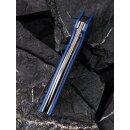 Anthropos CIVIVI C903 D2 Stahl G10 Blau/Grau Satin Kohlefaser Elijah Isham