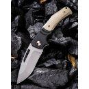 WE Knife JIXX Böhler M390 Schwarz/Braun Titan G10...