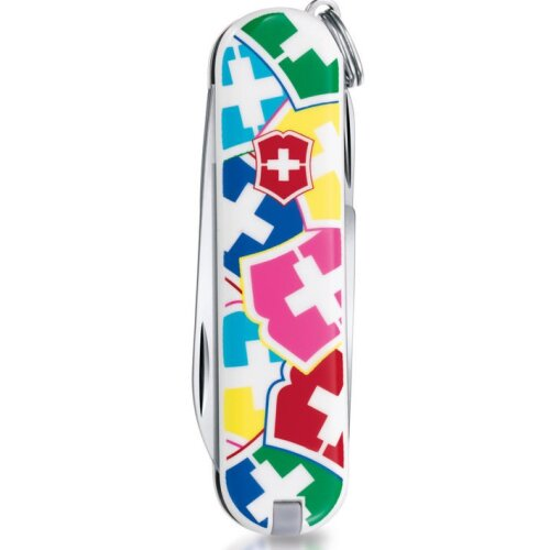 "Victorinox Griffschalen 58 mm ""VX Colors"" vorn + Logo"