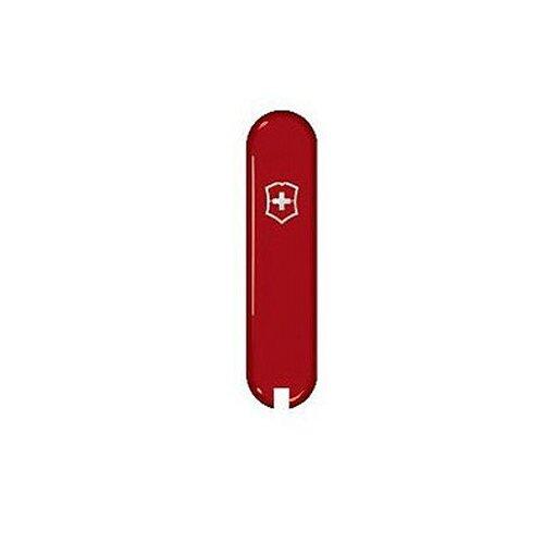Victorinox Griffschalen 58 mm rot vorn + Logo