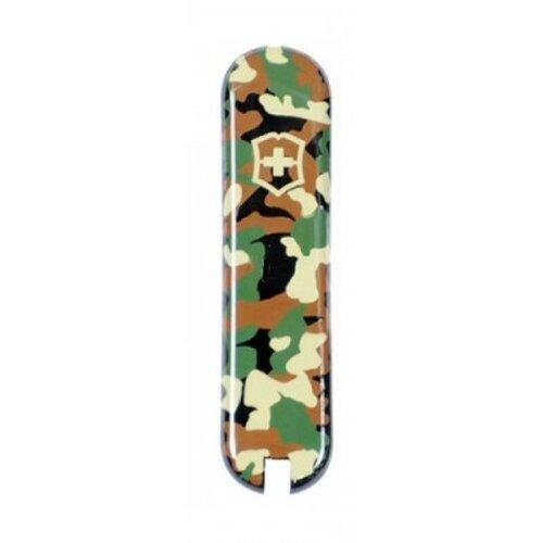 Victorinox Griffschale 58 mm camouflage vorn + Logo