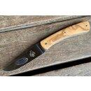 Guy Vialis Camembert 12C27 Stahl Olivenholz 11 cm