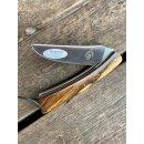 Guy Vialis Camembert 12C27 Stahl Pistazienholz 11 cm