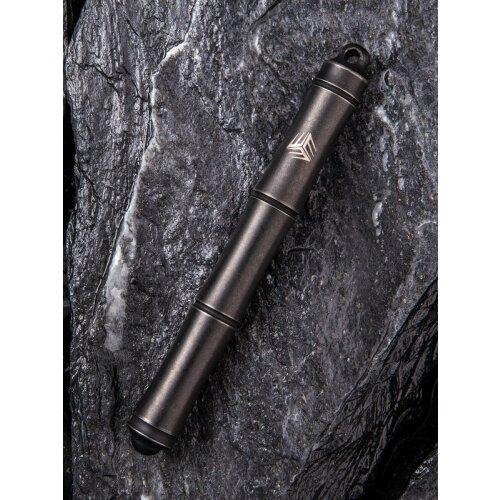 Kugelschreiber WE Knife Pen Syrinx Titan Schwarz TP-04