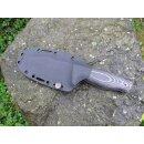 Wanger Vamos Bushcraft Böhler N690 Stahl Olive Outdoor Survival Jagdmesser Jan Ververs Design Olivenholz