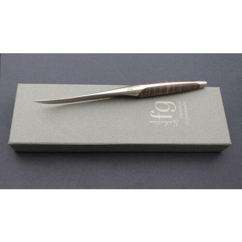sknife Schweizer Steakmesser-Set Franck Giovannini  Esche stabilisiert 2er Set