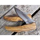 Ausgesuchte Maserung Linder Schließmesser Backlock mediterran Olivenholz Taschenmesser