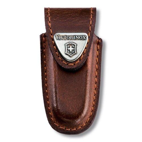 Victorinox Gürteletui Leder braun für Classic Minitaschenmesser Lederetui