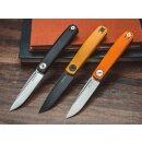 Real Steel G Slip Orange VG-10 Stahl Slipjoint G10 Orange 01RE158